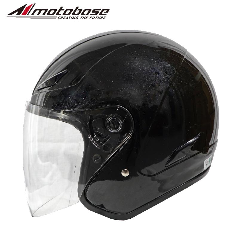 バイク用 オープンフェイスジェットヘルメット MBHL-SJ01