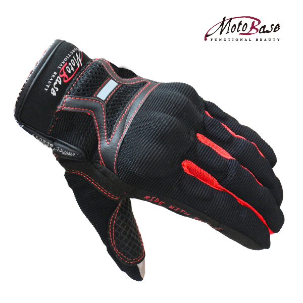 PROTECTION MESH GLOVE(レッド)