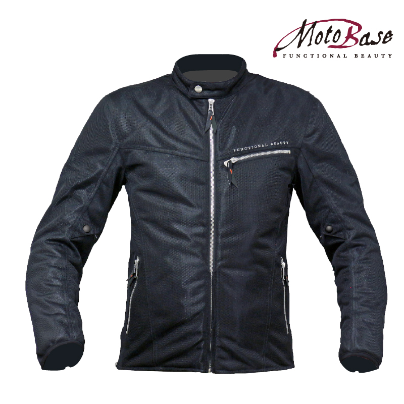 COOL MESH SINGLERIDER'S JACKET(BLACK)